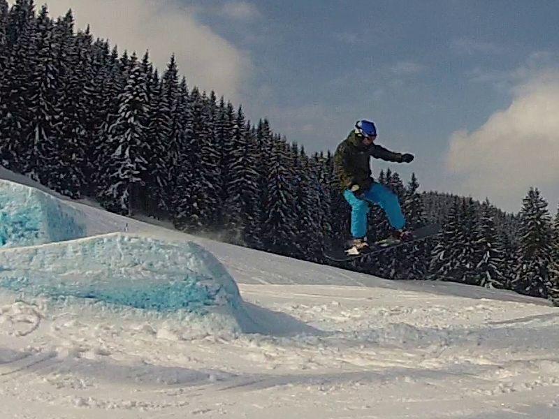 Aberg snowboard park