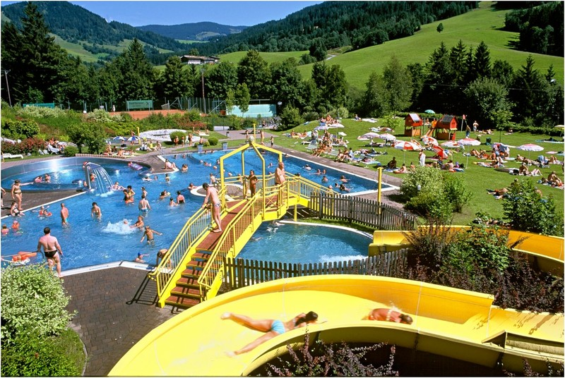 Maria Alm outdoor pool and Lido